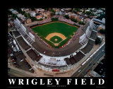 Wrigley Field – Chicago, Illinois Poster