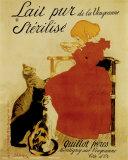 Lait Nestlé Posters par Théophile Alexandre Steinlen
