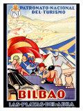 Bilbao Giclee Print by Colde Guezala