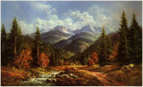 Waldbach in der Tatra Prints by Helmut Glassl