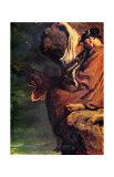 Sapho Giclee Print by Theodore Chasseriau