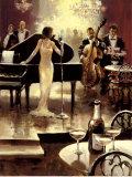 Soirée jazz Posters par Brent Heighton
