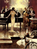 Jazz Night Out Posters by Brent Heighton