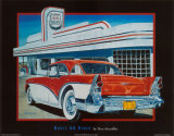 Route 66 Diner Posters by Don Stambler