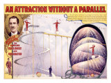 An Attraction Without a Parallel Lámina giclée