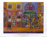 La Rue Reveiller Print by Holly Wojahn