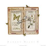 Garden Diary II Prints by Rebecca Lach