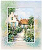 Sunny Garden Print by Johan De Jong