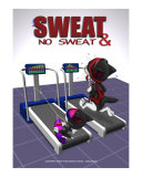 Sweat & No Sweat Photographic Print by Fred May