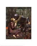 La Belle Dame Sans Merci Lmina por John William Waterhouse