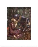 Die schöne Frau ohne Gnade Kunstdrucke von John William Waterhouse