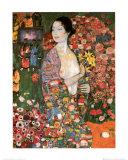 Die Tanzerin Kunst af Gustav Klimt