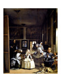 Las Meninas Giclee Print by Diego Vel&#225;zquez