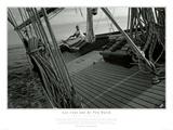 Les cent ans du Pen Duick Noir et Blanc Poster par Philip Plisson
