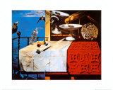 Natura morta vivente Stampe di Salvador Dalí