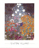 Blumengarten Prints by Gustav Klimt