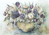 Flower Aquarel II Prints by Elizabeth Veltman-Adriaansz