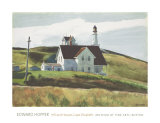 Colline et maisons de Cape Elizabeth au Maine Posters par Edward Hopper