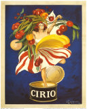 Cirio Poster by Leonetto Cappiello