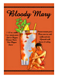Bloody Mary Cocktail Giclee Print