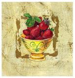 Coupe de fruits VI Posters par A. Vega