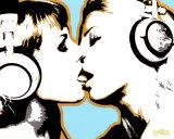 Steez– Der Kuss Kunstdrucke