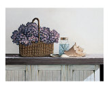 Still Life with Flowers Print by Daniel Pollera