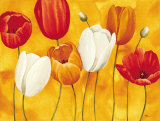 Festa di Tulipani Art by Maria Grazia Luffarelli