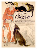 Clinique Cheron, c.1905 Giclee Print by Th&#233;ophile Alexandre Steinlen