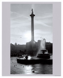 Trafalgar Square at Sunset, London, December 1968 Posters