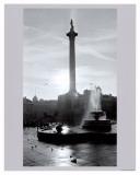 Trafalgar Square at Sunset, London, December 1968 Posters