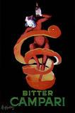 Reklame for Bitter Campari, ca.1921 Plakater