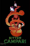Bitter Campari, c.1921 Posters