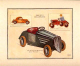 Automobile Type Renault Art by Laurence David
