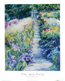 The Iris Path Prints by Linda Lee