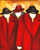 Three Wise Man I Poster by Gisela Ueberall