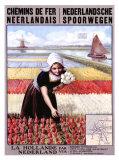 Chemins de Fer Neerlandais Giclee Print