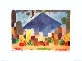 Ägyptische Nacht Kunst von Paul Klee