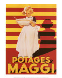 Potages Maggi Posters