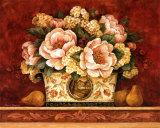 Peony Tapestry Prints by Pamela Gladding