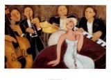 Quintet Poster by Marsha Hammel