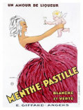 Menthe-Pastille Giclee Print by Jules Isnard Dransy