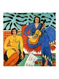 Musique Impression giclée par Henri Matisse