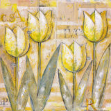 Mariels Tulips IV Posters by Eric Barjot