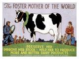 La mère du monde Foster Impression giclée par Richard Fayerweather Babcock