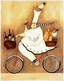 Jennifer Garant - Kuchař na kole Umění