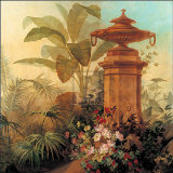 Tropical Fantasy II Prints by Jean Capeinick