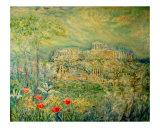 Acropolis in Athens Giclée-Druck von Chieko Toyoda