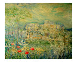 Acropolis in Athens Giclee Print by Chieko Toyoda