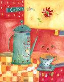 Collage de cuisine I Art par Katherine & Elizabeth Pope